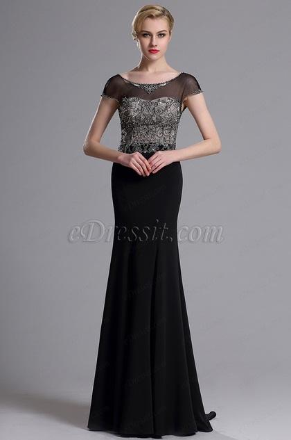 eDressit Illusion Ausschnitt Mermaid Abschlussball Kleid (021636000)