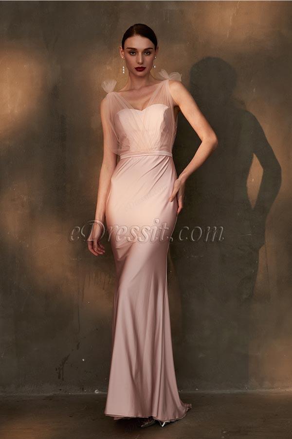 eDressit Unique Tulle Straps Sweetheart Bridesmaid Party Dress (07200101)