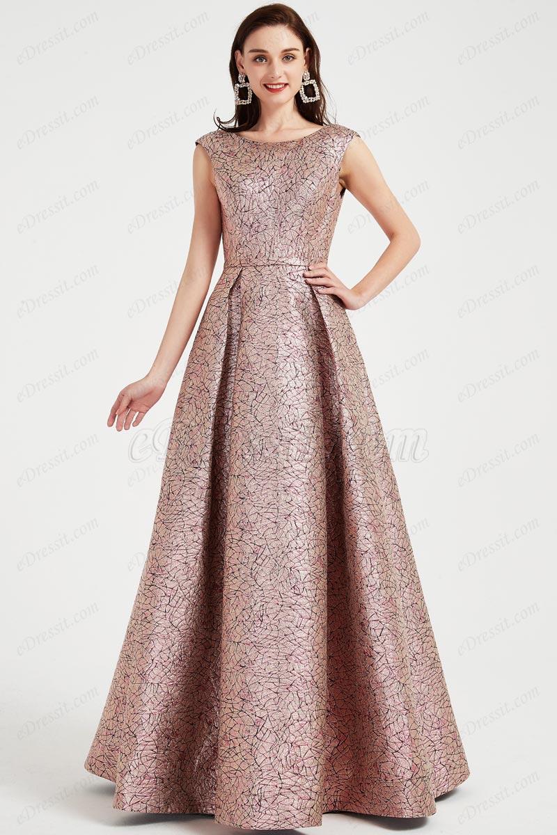 eDressit New Jacquard fabric Elegant Party Evening Gown (02202546)