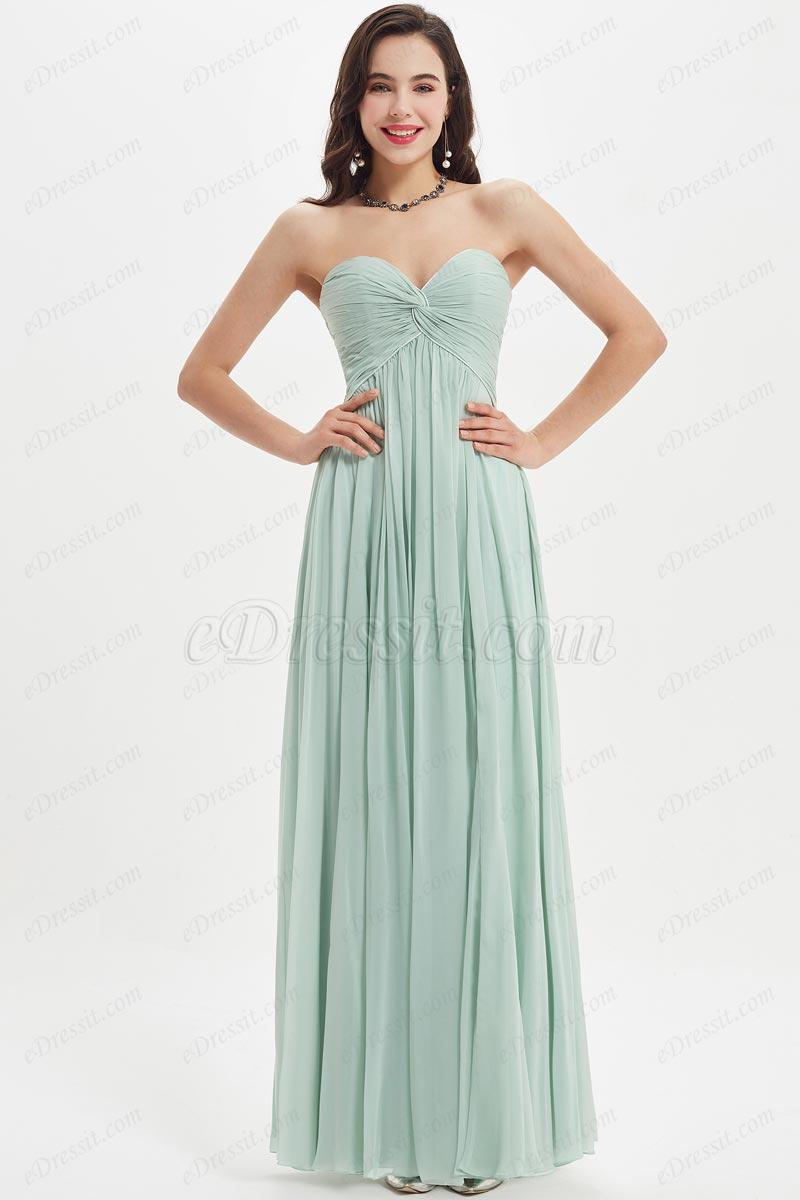eDressit Green Sweetheart  Evening Dress Bridesmaid Dress (07210404)