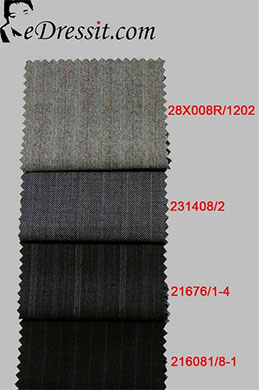 eDressit Suit fabric 100% Wollen (TD-1)
