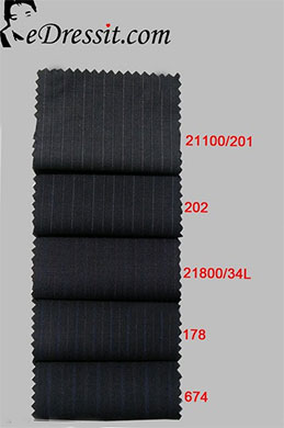 eDressit Suit fabric 100% Wollen (TD-3)