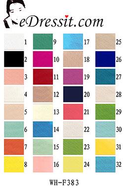 eDressit WH-F383 Fabric