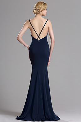 eDressit Marineblau Streifen Mermaid Ballkleid Abendkleid (00163405)