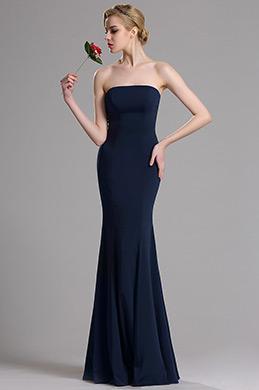 eDressit Robe de Soirée Sans Bretelle Bleu Foncé  (00163605)