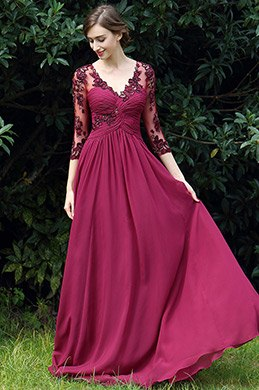 eDressit Fuchsia Floral Mother of the Bride Occasion Dress (26170317)