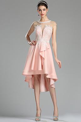 eDressit Платье коктейльное из розового кружева (04180201)