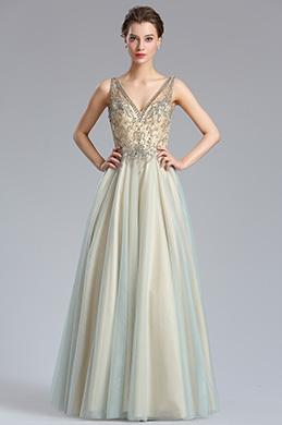eDressit Sparkly V Cut Beaded Women Evening Dresses (36184232)