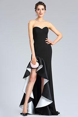 eDressit Sweet-Heart Black Slit Prom Evening Party Dress (36182000)