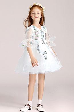 eDressit White Short Flower Girl Wedding Party Dress (28190807)