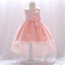 eDressit lovely Round Neck Pink/White/Beige Baby Dress (2319014)