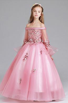 eDressit Off Shoulder Long Flower Girl Dress (27197946)