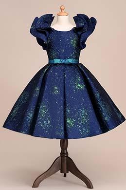 eDressit Bowknot Empire Short Sleeves Flower Girl Dress (28192105)