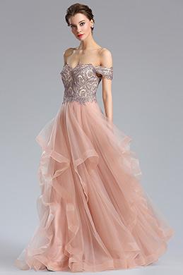 eDressit Off the Shoulder Beaded Women's Prom Dress (36184146)