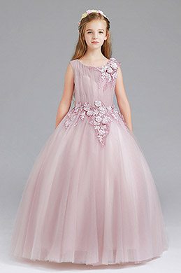 eDressit Sleeveless Flora Handmade Wedding Flower Girl Dress (27199546)