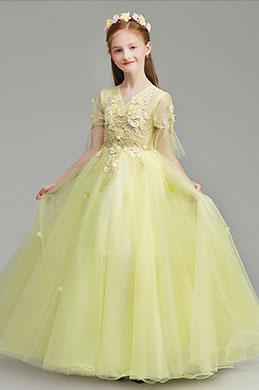 eDressit Long Princess Party Stage Flower Girl Dress (27191603)