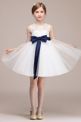eDressit Gentil Robe de Demoiselle d'Honneur Blanche (28192507)
