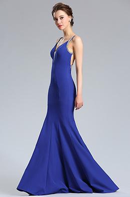 eDressit Robe de Bal Longue Bleu en Sirène Sexy (36182605)