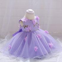 eDressit Round Neck Sleeveless Baby Dress Infant Dress (2319018)