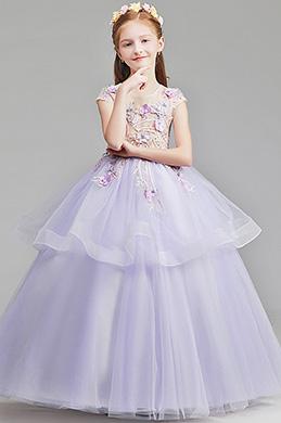 eDressit Thistle Colour Princess Children Wedding Flower Girl Dress (27197006)