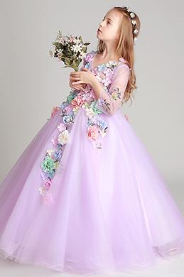 eDressit Long Handmade Wedding Flower Girl Party Dress (27197806)