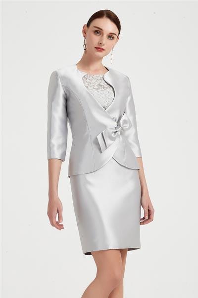 eDressit New Grey 2 pieces Women Suits Mother of Bride Dress (26200108)