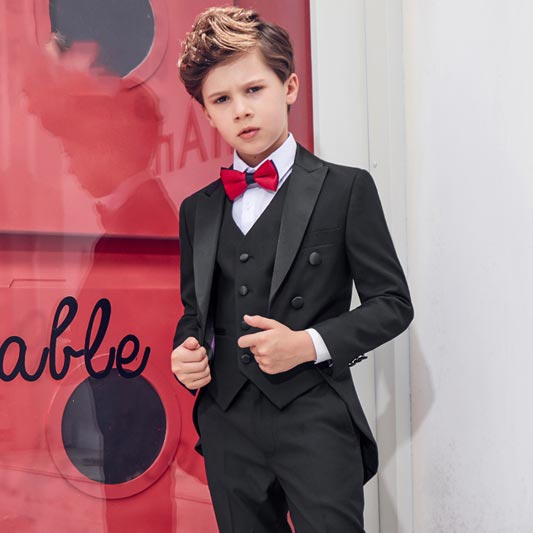 New Sweet Kids 5 Pieces Special Occasion Formal Suit Boys (T16019)