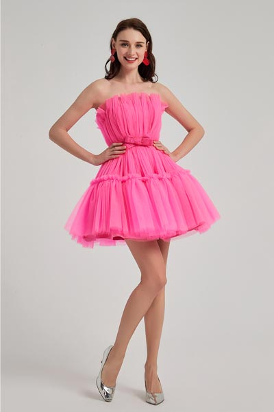 eDressit Lovely Hot Pink Star Red Carpet Cocktail Party Dress (04200212)