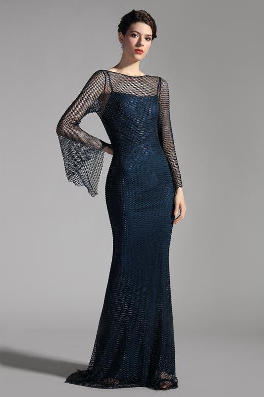 eDressit New 2 Pieces Spaghetti Straps with Net Layer Mermaid Dress (02206105)