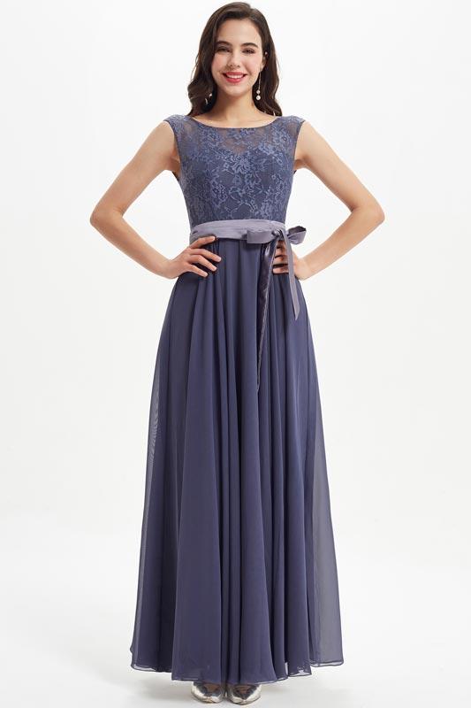 eDressit Illusion Neck Lace Appliques Party Bridesmaid Dress (07211305)
