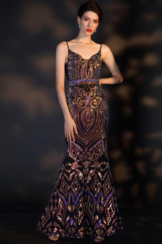 eDressit Spaghetti V-Cut Gorgeous Beaded Party Prom Dress (02204568)