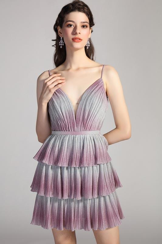 eDressit Sexy Gradient Colour V-Cut Spaghetti Party Cocktail Dress (04201156)