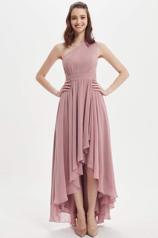 eDressit Nice One Shoulder High-Low Wedding Bridesmaid Dress(07217501)