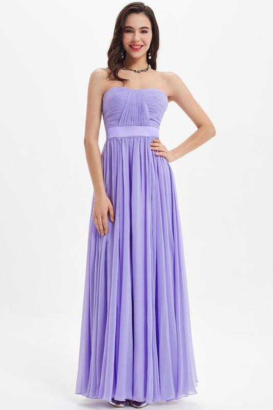 eDressit Lila Strapless Sweetheart  Wedding Bridesmaid Dress (07210106)