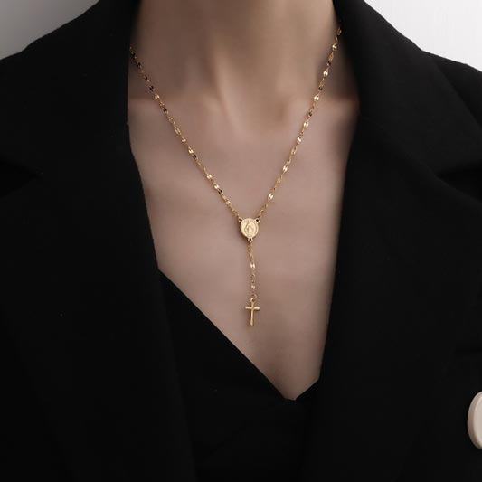 Fahsion 18K Golden Necklace - Birthday Gifts Mother's Day Gifts (T210001)