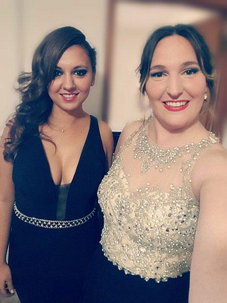 Sleeveless Beaded Bodice A-line Prom Dress Long
