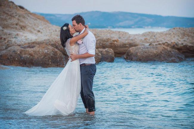 A-line Wedding Dress, Beach Wedding Gown