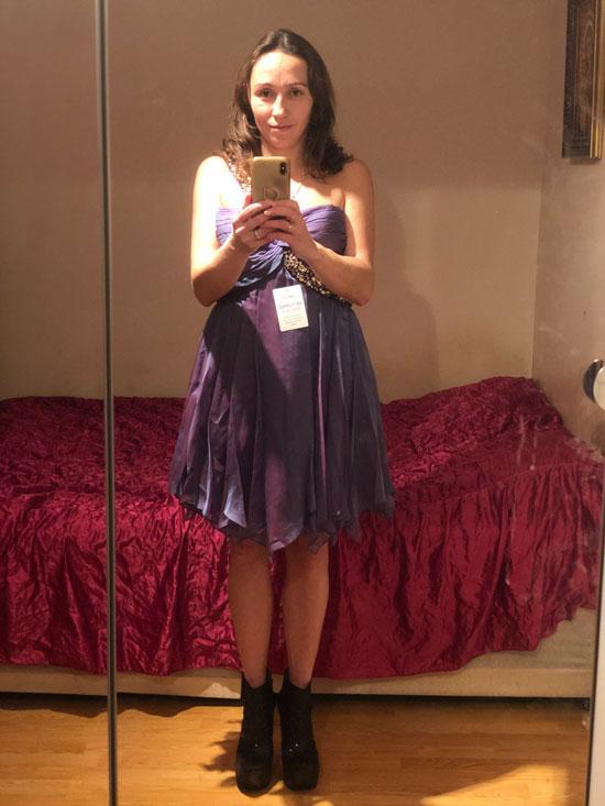 Strapless Cocktail Dress, Summer Wedding Guest Dress