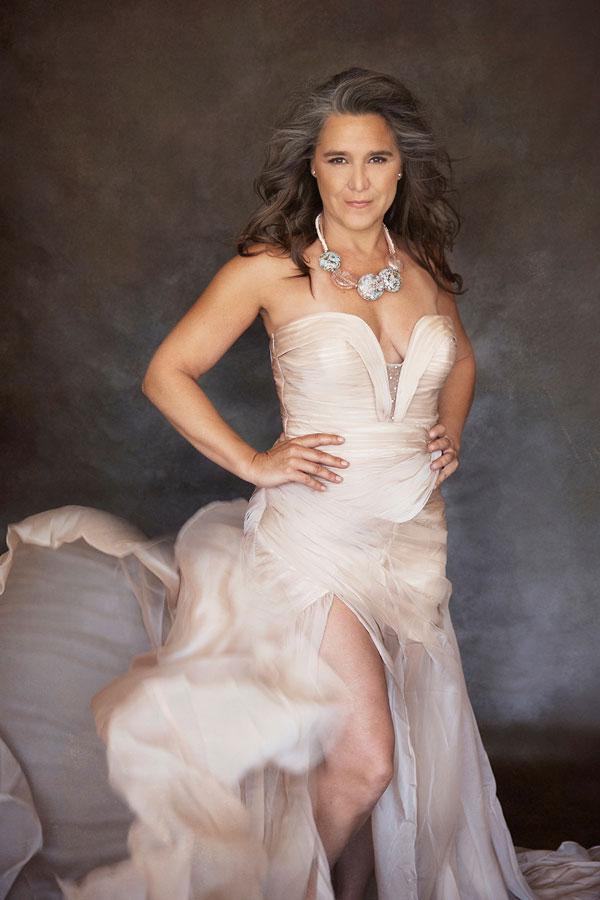 Beige Strapless Prom Evening Dress