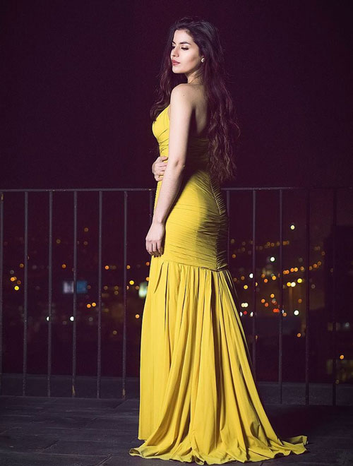 Yellow Mermaid Dress for Prom and Formal Events