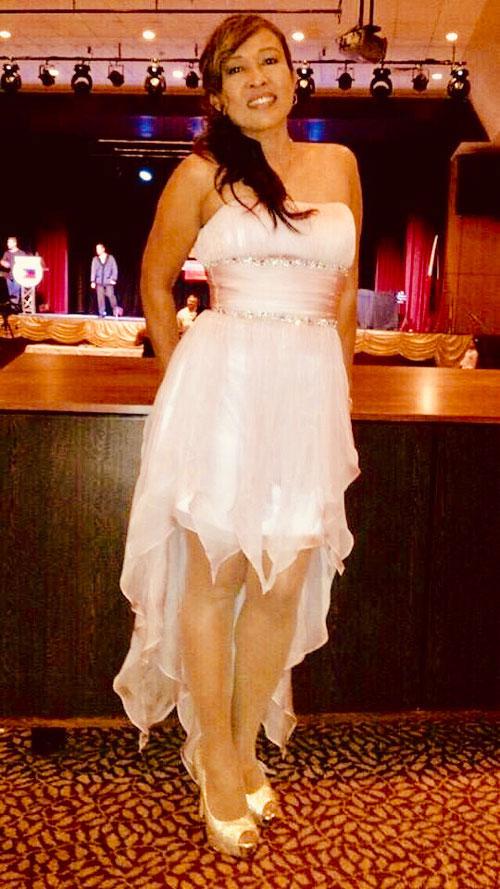 Cute High Low Prom Dress Strapless Neckline