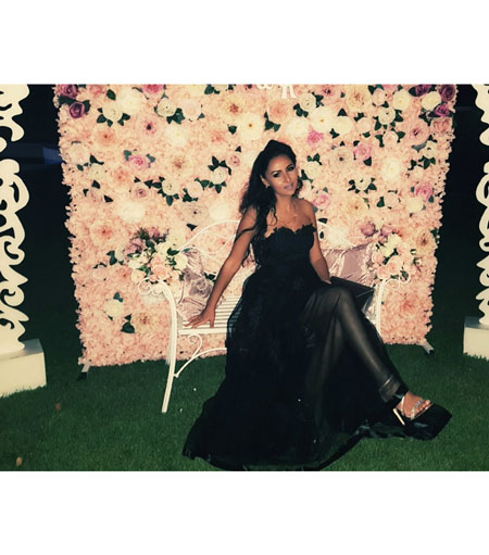 Strapless Black Prom Dress for Party